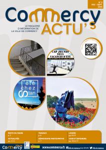 Commercy ACTU's - Edition 3 - mai septembre 2015